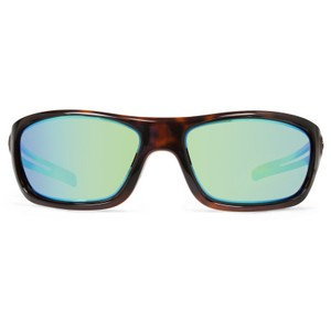 Revolt Jeans Revo Sunglasses RE4070 Guide Small 4070 02GN Tortoise/Green Water Lens