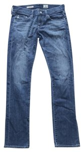 AG Adriano Goldschmied Tomboy Boyfriend Medium Relaxed Fit Jeans-Medium Wash