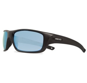 Revolt Jeans Revo Sunglasses RE4073 Guide II 4073 11 BL Matte Black/Blue Water Lens