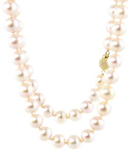 Other * A-Quality Genuine Pink Pearl Necklace