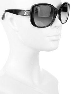 Chanel Chanel 5183 CC Logo Black Square Oversized Polarized Classic Quilted