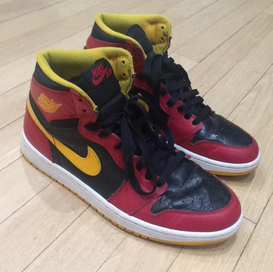 Nike black, red and yellow Athletic