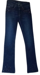bebe Boot Cut Jeans-Dark Rinse