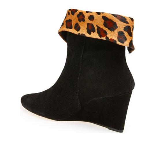 Kate Spade Suede Leather Black Boots