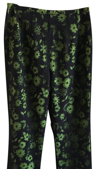Preload https://img-static.tradesy.com/item/21339539/sharon-young-green-and-black-laced-trousers-size-8-m-29-30-0-1-650-650.jpg