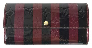 Louis Vuitton RAYURES VERNIS LIMITED EDITION SARAH WALLET