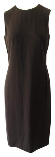 Item - Brown 325054 Shift 44g/ Us 8 Mid-length Work/Office Dress Size 8-m