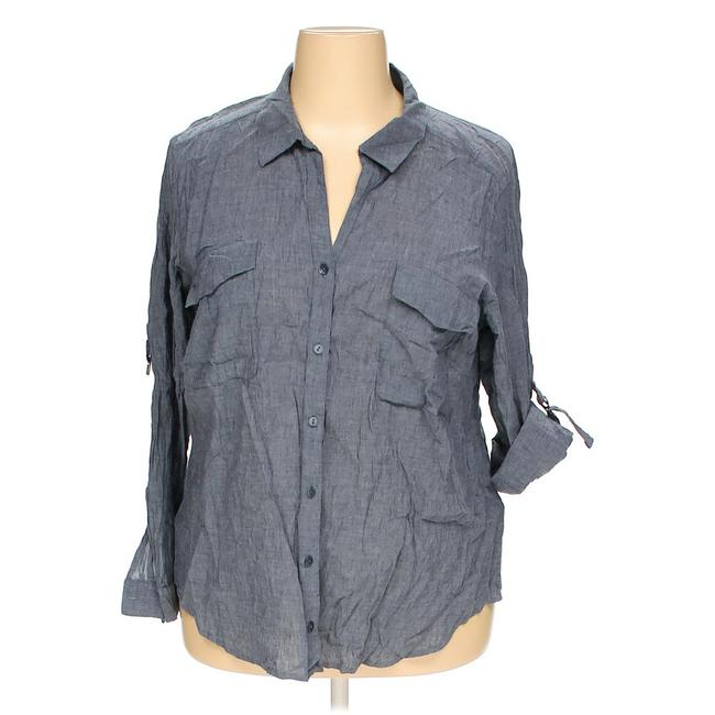 Preload https://img-static.tradesy.com/item/21339891/eileen-fisher-chambray-blue-cottonlinen-button-down-top-size-22-plus-2x-0-0-650-650.jpg