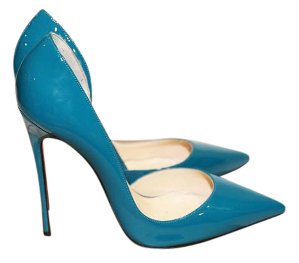 best service c3c14 69f62 Christian Louboutin Curacao Iriza 120mm Patent Leather Pointed Toe Pumps  Size US 9 34% off retail
