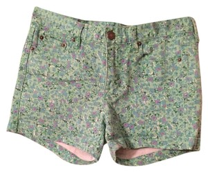 J.Crew Denim Shorts Floral