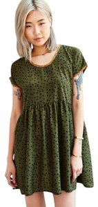 Urban Renewal short dress GREEN Remade Babydoll on Tradesy