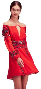 For Love & Lemons short dress Red on Tradesy