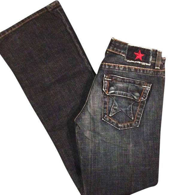 Preload https://img-static.tradesy.com/item/21340103/people-s-liberation-blue-straight-leg-jeans-size-26-2-xs-0-1-650-650.jpg
