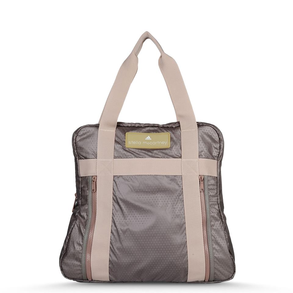 adidas by stella mccartney yoga taupe tote bag on tradesy. Black Bedroom Furniture Sets. Home Design Ideas