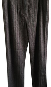 City Girl by Nancy Bolen Trouser Pants brown with stripes