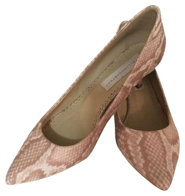 Item - Pink Embroidered Pointed-toe Pumps Size EU 36.5 (Approx. US 6.5) Regular (M, B)