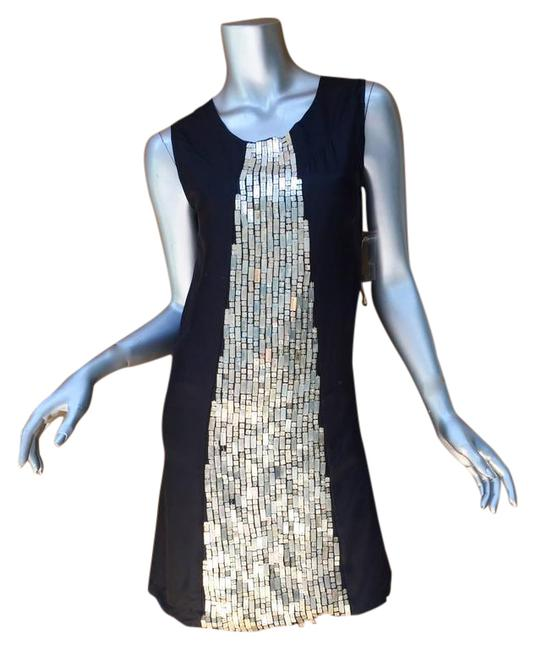 Item - Black Silk Mid-length Night Out Dress Size OS
