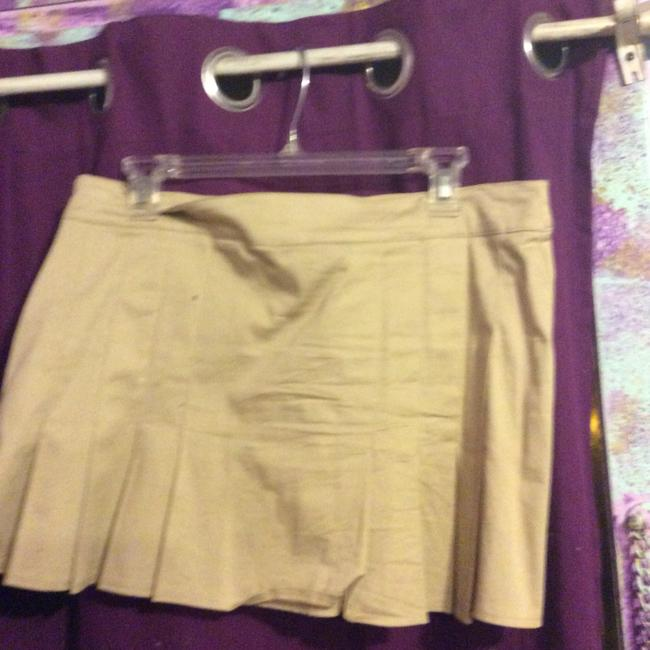 bebe Mini Skirt khaki