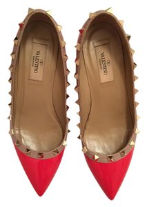 Valentino Rockstud Pumps red Wedges
