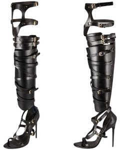 Tom Ford Over-The-Knee Bandage Sandals