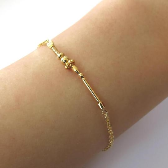 Elliot Francis Delicate gold stacking bracelet