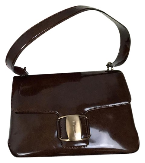 Preload https://img-static.tradesy.com/item/21340662/salvatore-ferragamo-brown-patent-leather-shoulder-bag-0-1-540-540.jpg