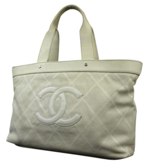 Preload https://img-static.tradesy.com/item/21340789/chanel-timeless-perforated-cc-218174-white-calfskin-tote-0-1-540-540.jpg
