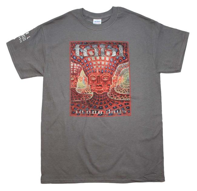 Tool Band Hippie Boho The Treasured Hippie T Shirt Gray