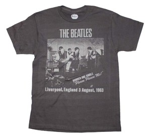 Other Band Shirts Hippie Boho The Treasured Hippie The Beatles T Shirt Gray