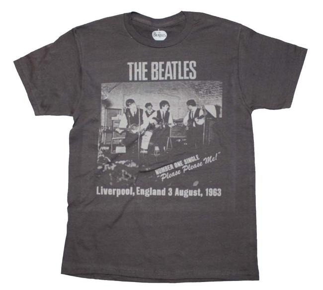 Other Band Hippie Boho The Treasured Hippie The Beatles T Shirt Gray