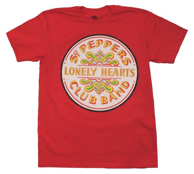 Preload https://img-static.tradesy.com/item/21340889/red-beatles-sgt-peppers-club-band-seal-tee-shirt-size-10-m-0-0-650-650.jpg