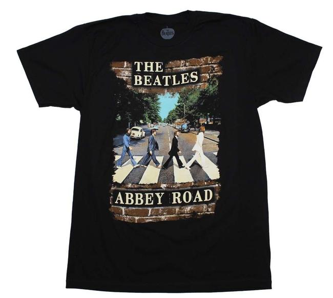 Preload https://img-static.tradesy.com/item/21340899/black-beatles-abbey-brick-photo-tee-shirt-size-6-s-0-0-650-650.jpg