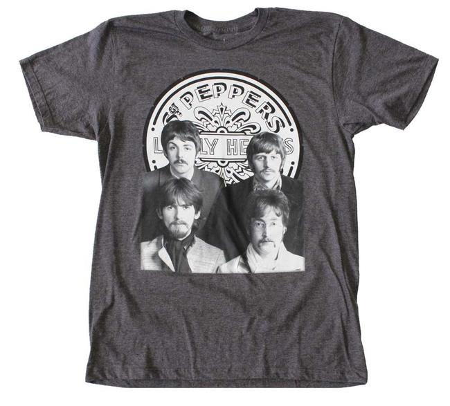 Preload https://img-static.tradesy.com/item/21340928/heather-charcoal-beatles-sergeant-pepper-group-photo-tee-shirt-size-16-xl-plus-0x-0-0-650-650.jpg