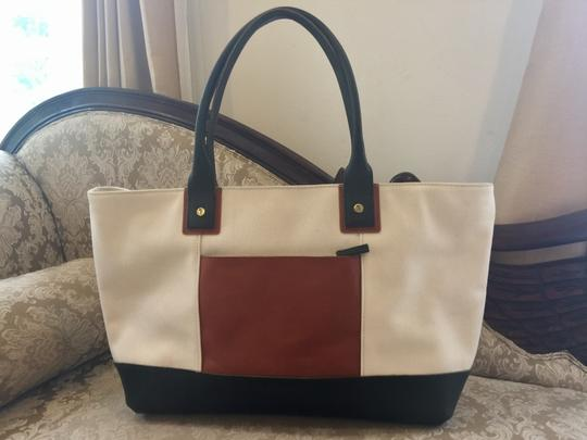Serena and Lily Green and brown Travel Bag
