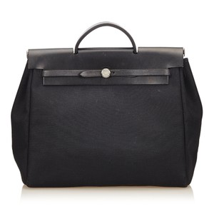 Hermès 7dhehb001 Black Travel Bag