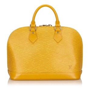 Louis Vuitton 7clvhb113 Satchel in Yellow
