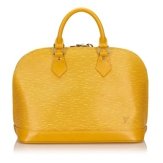 Preload https://img-static.tradesy.com/item/21341110/louis-vuitton-alma-epi-pm-yellow-leather-satchel-0-0-540-540.jpg