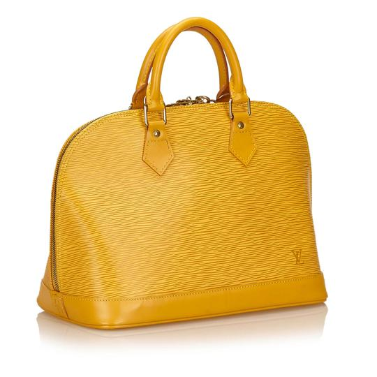 Louis Vuitton 7clvhb113 Satchel in Yellow Image 1