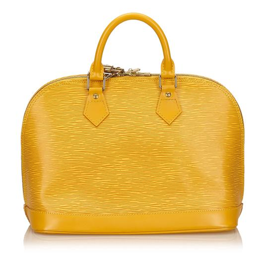 Louis Vuitton 7clvhb113 Satchel in Yellow Image 2