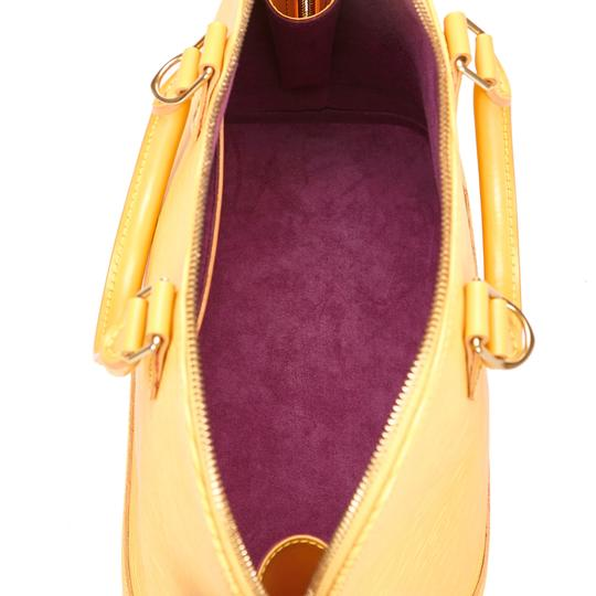 Louis Vuitton 7clvhb113 Satchel in Yellow Image 4