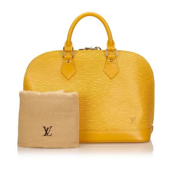 Louis Vuitton 7clvhb113 Satchel in Yellow Image 7