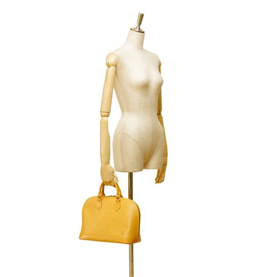 Louis Vuitton 7clvhb113 Satchel in Yellow Image 8