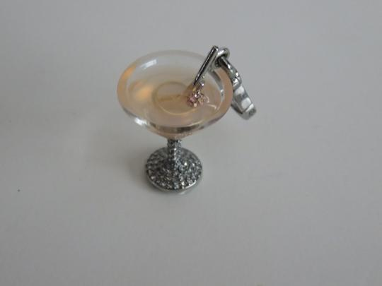 Juicy Couture New In Box Juicy Couture Cosmo Drink Charm With Pave Stones
