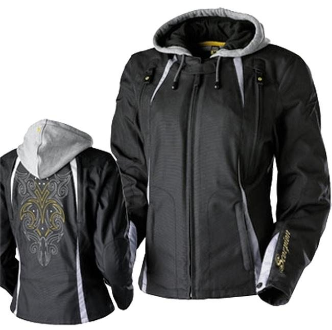 Preload https://item1.tradesy.com/images/scorpio-riding-jacket-motorcycle-black-gray-yellow-detail-stiching-jacket-2134135-0-0.jpg?width=400&height=650