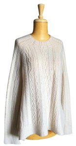 The Row Cashmere Cable Swing A Line Sweater