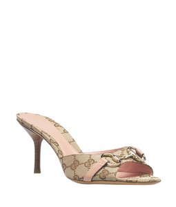 Gucci Beige,Pink Sandals