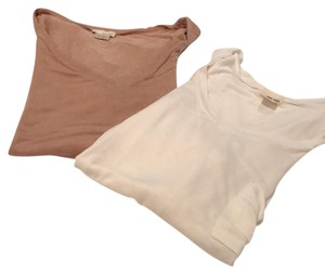 Wet Seal T Shirt beige and off-white