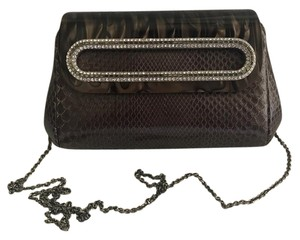 Judith Leiber Clutch Python Cross Body Bag