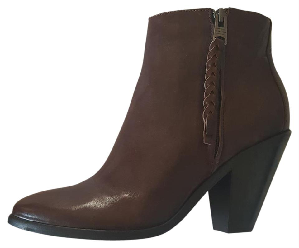 WOMENS AllSaints full Brown Paget Boots/Booties Make full AllSaints use of materials 1537ef