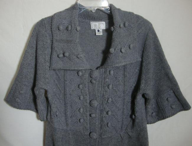 Alberto Makali Cardigan 3/4 Sleeve Button Front Sweater